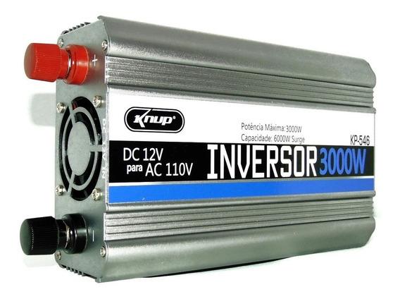Inversor Automotivo Veicular 3000w 12v 110v Knup