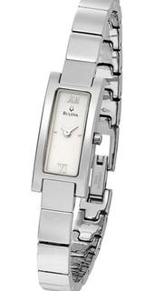 Reloj Bulova 96t08 Acero Inoxidable Dama Watch Fan