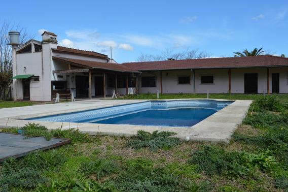 Escobar - Quinta En Venta Con Renta - Lote De 2400m2