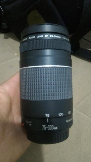 Canon 75-300 Mm Conector Placa Soltou A Solda