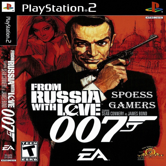 007 From Russia With Love James Bond Ps2 Desbloqueado Patchs