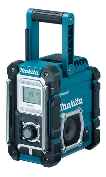 Radio Portátil A Bateria Makita Dmr106 Am/fm E Bluetooth
