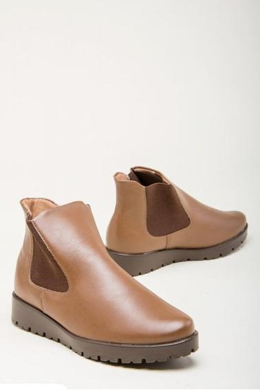 Bota Botineta Zapato Caña Corta Taco 2cm Mujer Piccadilly !!!