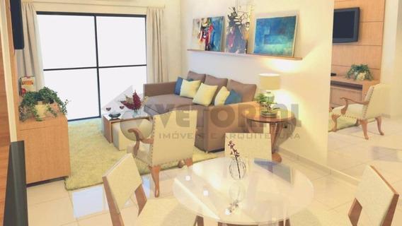 Apartamento Residencial À Venda A 200 Mts Da Praia, Porto Novo, Caraguatatuba. - Ap0022