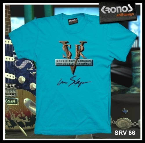 Remeras Stevie Ray Vaughan Rock Blues Guitarra Srv M.086
