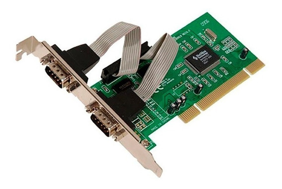 Placa Pci 2 Serial Noga Kw 239 Db9 Pc Fiscal