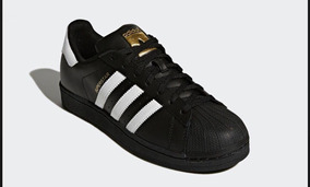 Tenis adidas Concha Negro Clasico