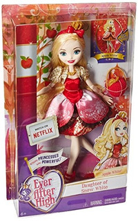 Ever After High First Chapter Apple White Doll Descontinuado