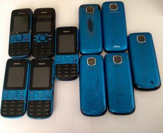 Lote 10 Nokia 2690 Seminovo Desbloq-atenção Leia O Anuncio
