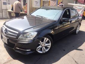 Mercedes Benz Clase C 200 Cgi 2013 Exclusive Navi, Seminuevo