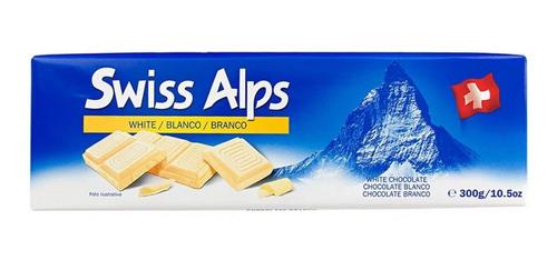 Imagen 1 de 3 de Chocolate Swiss Alpss  Blanco, 300 Grs.