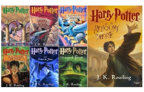 Coleção Harry Potter - Edição Normal - 7 Livros