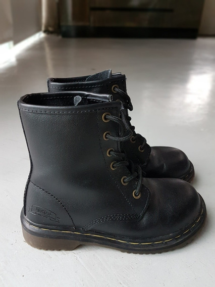 Borcegos Kickers Cuero Unisex Negro T32