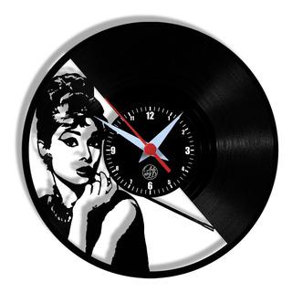 Relógio De Parede Vinil - Bonequinha De Luxo Cinema