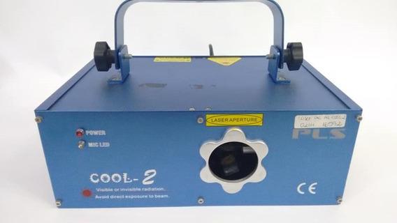 Laser Ac Al Cool 2 Dmx 512 Pls 220v Festas Iluminacao Dj