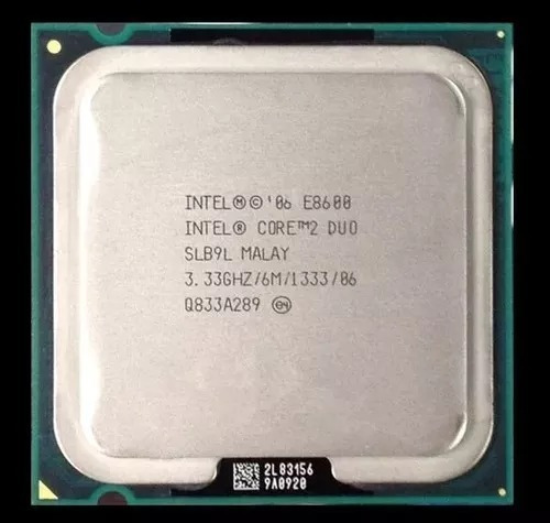 Processador Intel Core 2 Duo E8600 + 2 Ddr2 800 Mhz 2gb