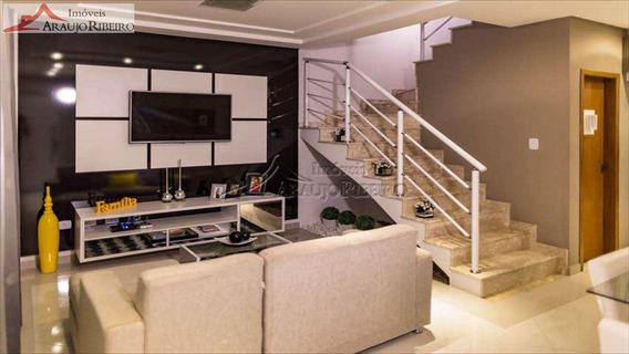 Casa Nova Em Condomínio No Areão - V1110