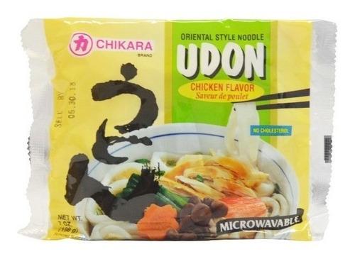 Imagen 1 de 1 de Chikara, Udon Sabor Pollo, 198 G