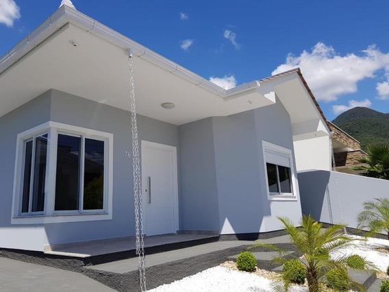 Casa Em Praia De Fora, Palhoça/sc De 111m² 3 Quartos À Venda Por R$ 450.000,00 - Ca187362