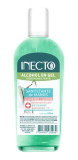 Alcohol En Gel Antibacterial Aloe Vera Graduacion 70% Inecto