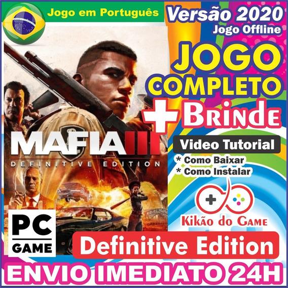 Mafia 3 Definitive Edition Pc Digital Br + Brinde