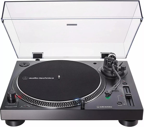 Toca Discos Audio Technica Lp120x Usb Bivolt,bk/sv