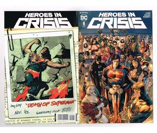 Heroes In Crisis 1 Al 9 - Editorial Televisa