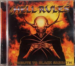 Cd Hell Rules 2 - A Tribute To Black Sabbath - Imp. Lacrado