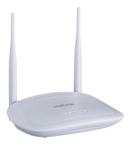 Roteador, Access point, Repetidor Intelbras IWR 3000N branco 100V/240V 1 unidade