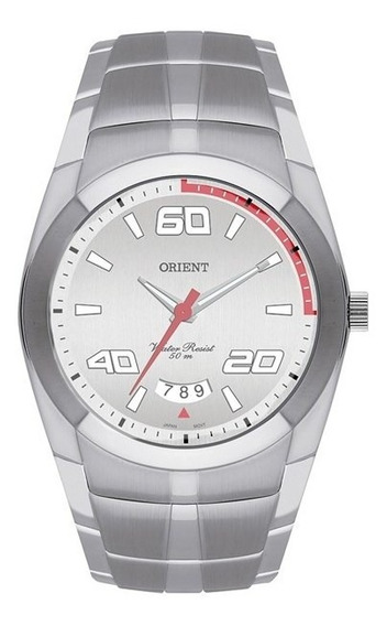 Relógio Orient Masculino Prata Mbss1115 S2sx
