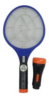 Raqueta Mata Mosquitos Electrica Recargable Por Usb Nisuta
