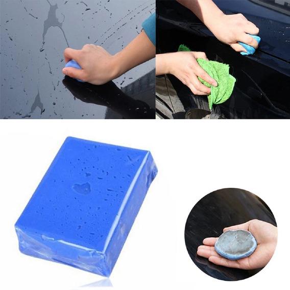 Clay Bar Azul Clean Limpeza Carro Descontaminação Lataria