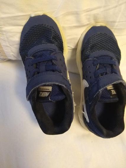 Tenis Nike Azul Original Tam Uk8,5 Us9c