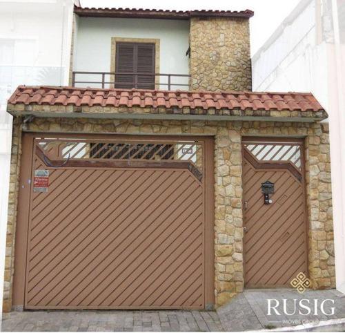 Imagem 1 de 23 de Casa Com 3 Dormitórios À Venda, 248 M² - Vila Lúcia - São Paulo/sp - Ca0143