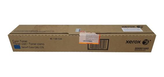 Toner Xerox C60 / C70 / 006r01660 Cyan Original Novo