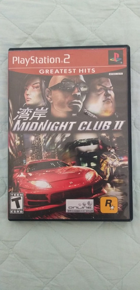 Jogo Playstation 2 Midnight Club 2