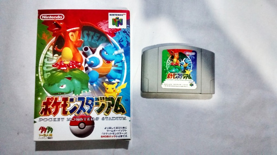 Pocket Monsters Stadium Pokémon Stadium Japonês- Nintendo 64
