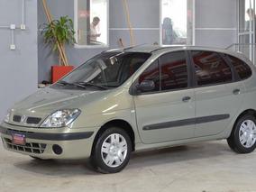 Renault Megane Scenic 16 V Nafta 2005 5ptas Color Verde