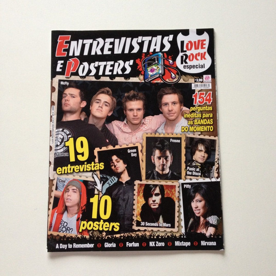 Revista Love Rock Especial 09 Entrevistas E Posters F640