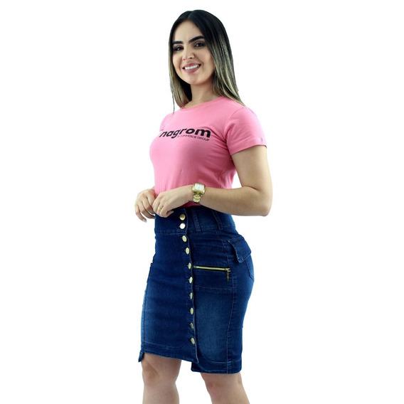 Kit 2 Saias Jeans Moda Evangélica Escolha Os Modelos