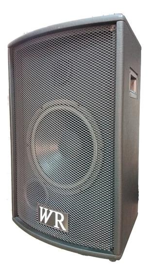Caixa Ativa 10 Pol 100w Rms Buethooth Fm Usb Wr Audio