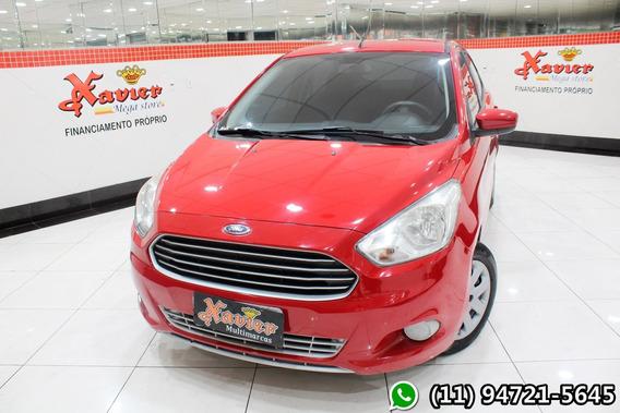 Ka+ Sedan 1.5 Se Vermelho 2015 Financiamento Próprio 6626