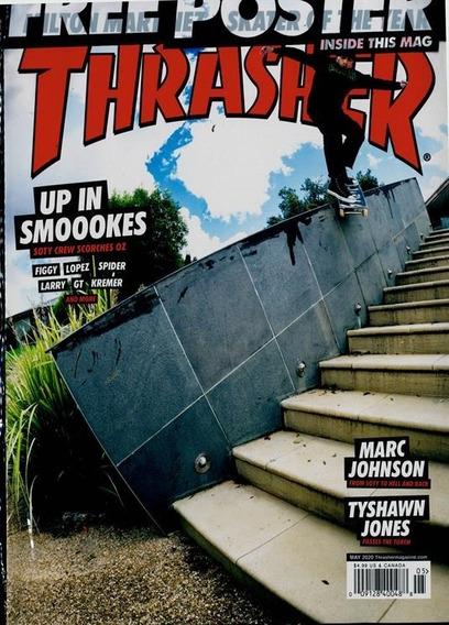 Thrasher Us - Revista Sobre Skatistas,pistas Curiosidades