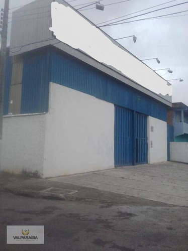 Imagem 1 de 5 de Galpão Para Alugar, 1000 M² Por R$ 14.000,00/mês - Jardim São Vicente - São José Dos Campos/sp - Ga0013