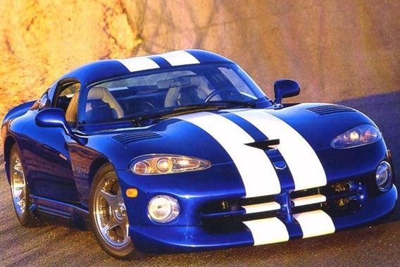 Dodge Viper Gts Escala 1/18 Burago (10d)