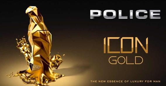 Perfume Police Icon Gold 125 Ml + Brinde