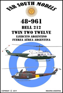 Far South Models 1/48 48-961 Bell 212 Twin Two Twelve