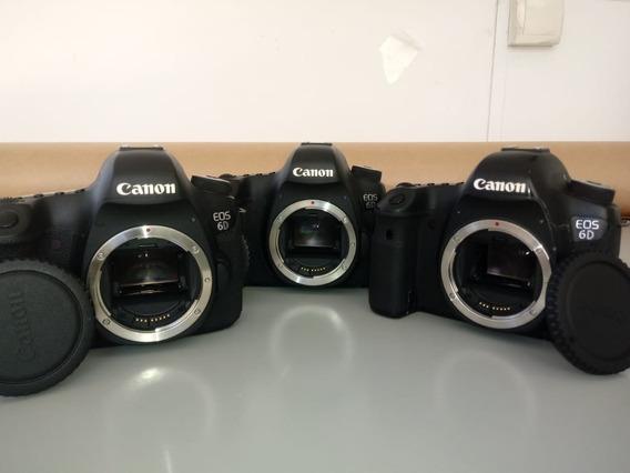 3 Câmeras Canon Eos 6d (média 200k Cliques)
