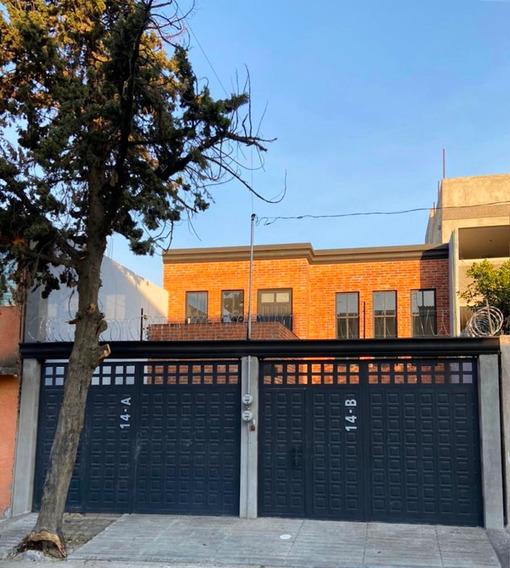 Casa Duplex En Planta Alta, En Ampliación Tepepan