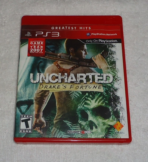 Uncharted Drakes Fortune Portugues Ps3 ** Leia